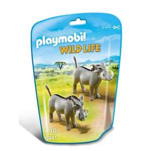 FIGURINE - PERSONNAGE Playmobil Safari Sangliers Africain