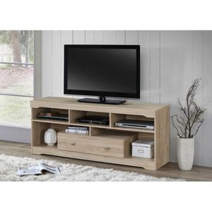 MEUBLE TV Meuble TV MERSIN 150 cm à 1 tiroir et 5 niches col