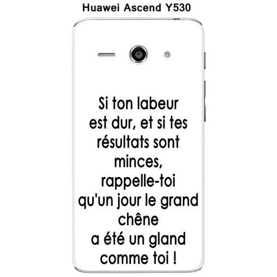 Coque Huawei Ascend Y530 design Citation