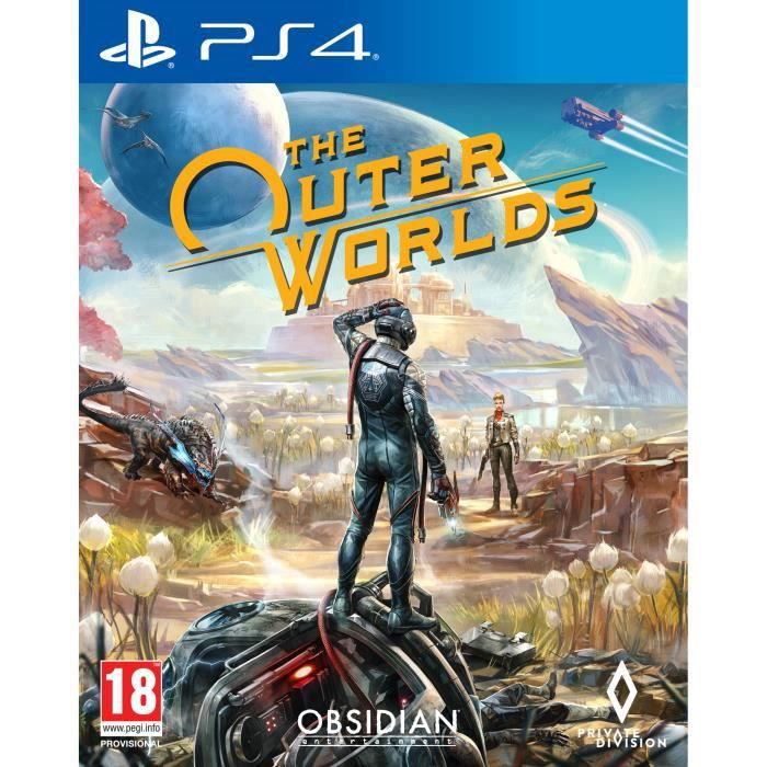 The Outer Worlds Jeu PS4