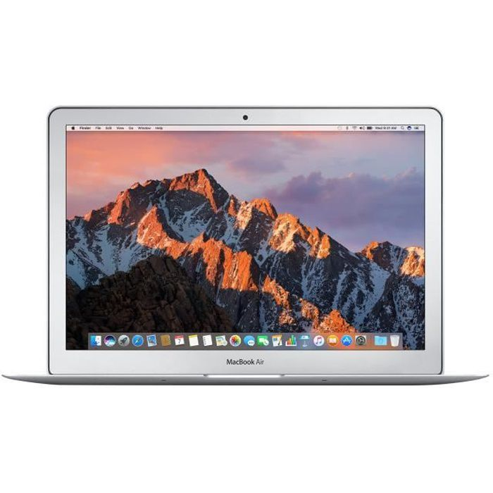 Apple MacBook Air Core i5 1.8 GHz OS X 10.12 Sierra 8 Go RAM...