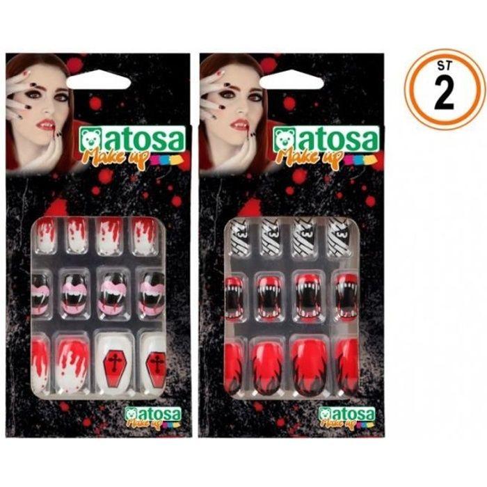 Faux Ongles Halloween Set de deux Différents