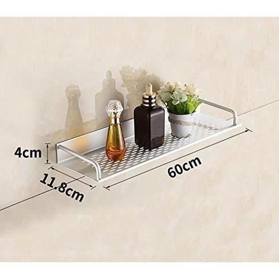 L 'aluminium tablette 60 cm , condiment de cuisine, salle de bains, armoire rack rack, cosmétique bac mural