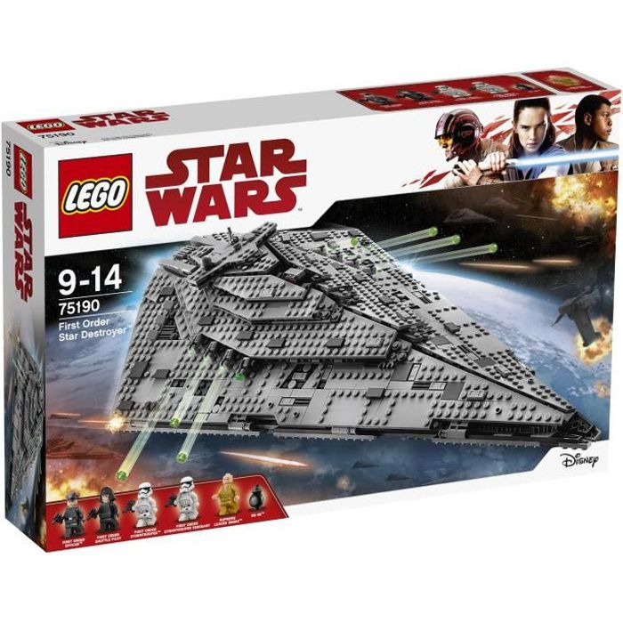 LEGO® Star Wars™ 75190 First Order Star Destroyer™