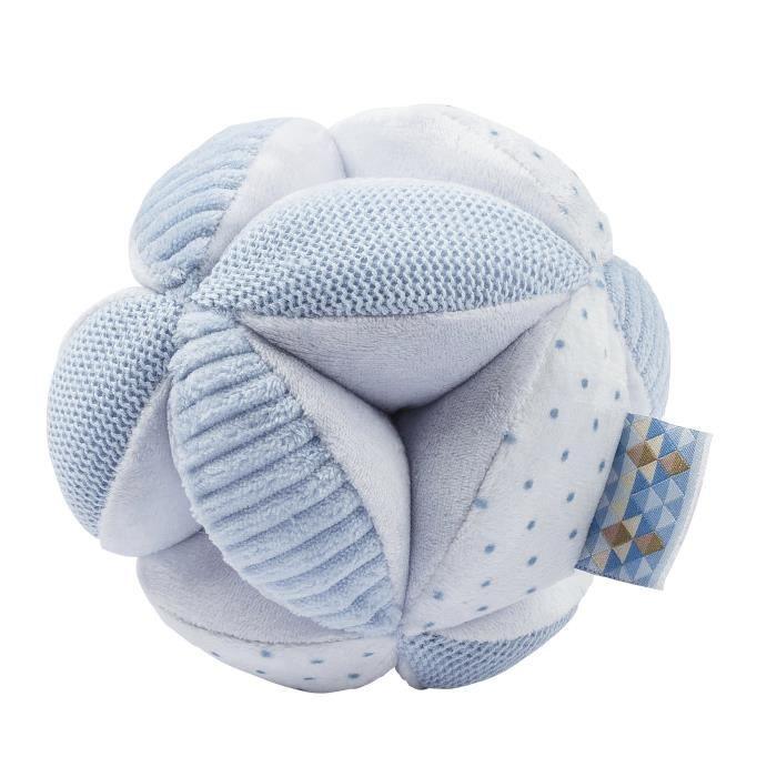 NATTOU Balle d'activités - 100% polyester - Bleu