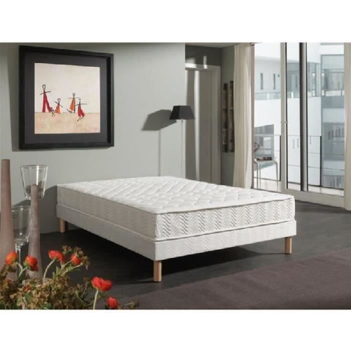 lit ensemble sommier et matelas dormaflex. Black Bedroom Furniture Sets. Home Design Ideas