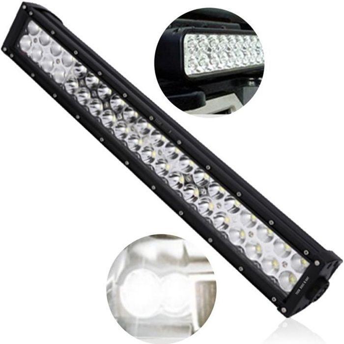 TD® Feu grosses voitures camion LED bande lumière Super lumineux puissance véhicules spéciaux éclairage sombre nuit phares lampe