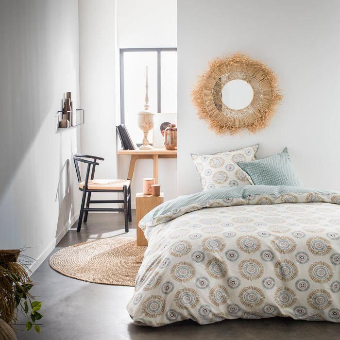 Housse de couette et taie d'oreiller Today 100% Coton 57 fils 4.47 - taille:240 x 260 cm