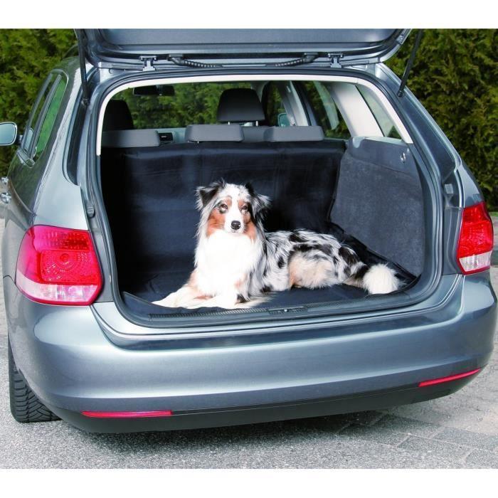 TRIXIE Couverture de coffre auto pour chiens 120x150 cm Noir