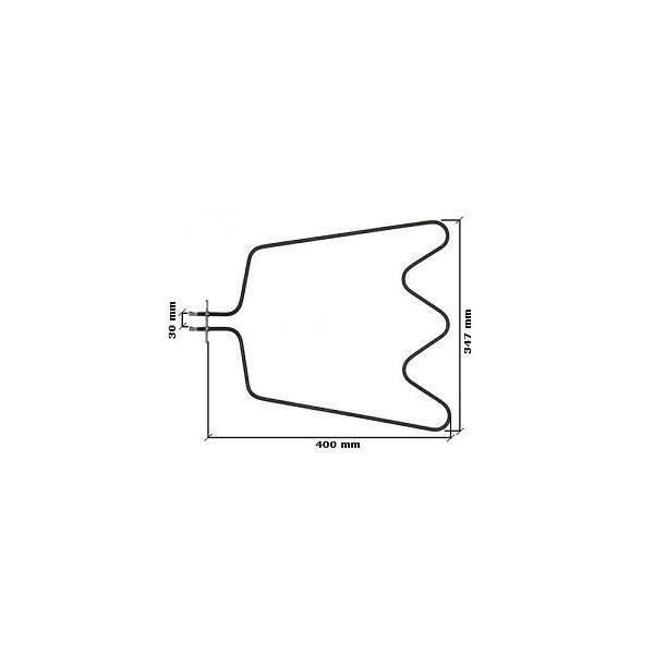 Accessoires Gros Appareils De Cuisson - Pieces Gros Appareils De Cuisson - WHIRLPOOL - Resistance sole four whirlpool 1150w