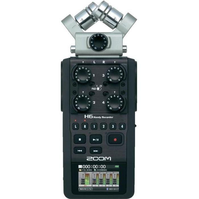 Zoom H6 Pro Enregistreur audio numérique