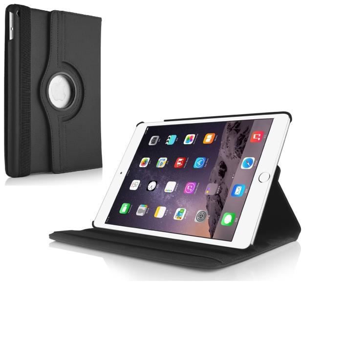 360 air 2 housse coque ipad air 2 noir ultim it achat vente tablette tactile 360 housse ipad. Black Bedroom Furniture Sets. Home Design Ideas
