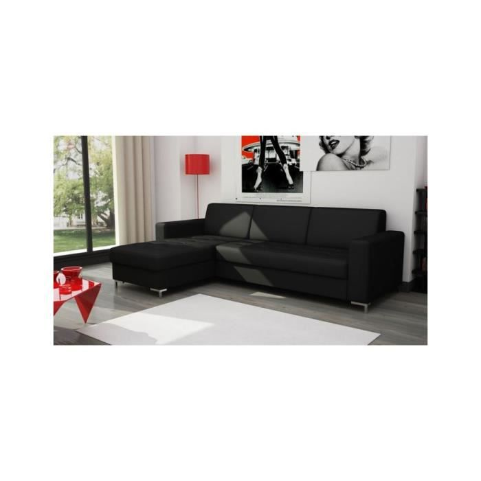 canap d 39 angle fixe comfort bultex convertible et. Black Bedroom Furniture Sets. Home Design Ideas