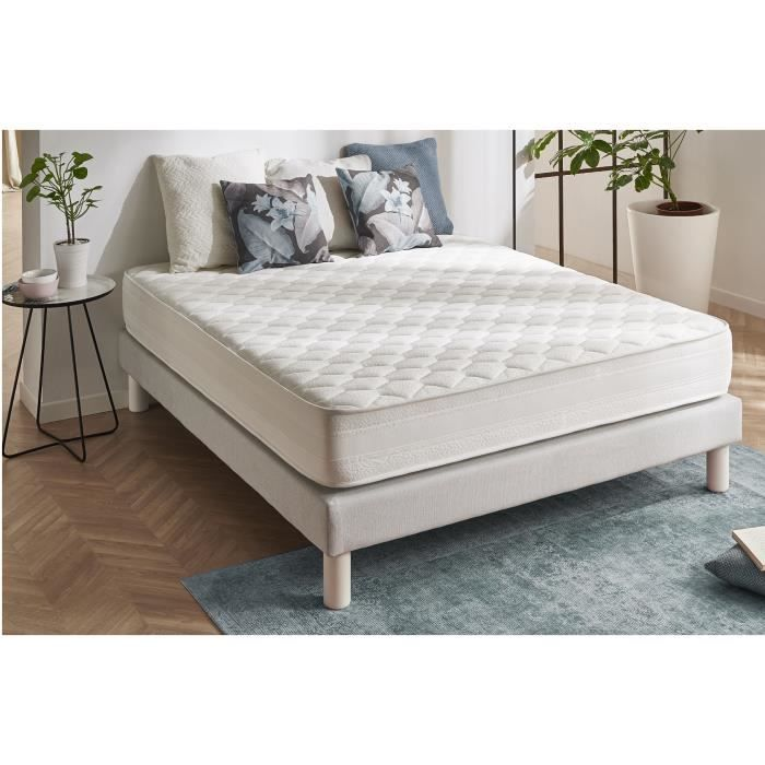 matelas deluxe 80x190 blue latex mousse a m moire achat. Black Bedroom Furniture Sets. Home Design Ideas
