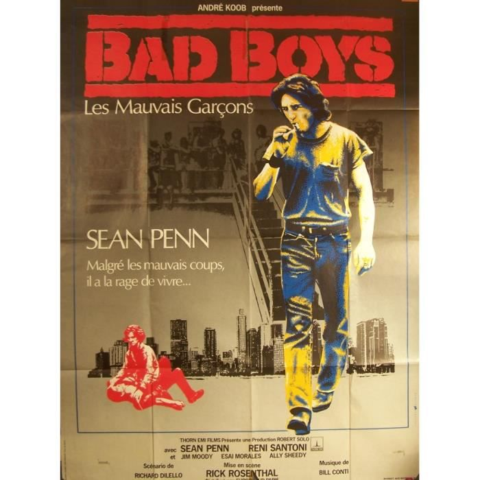 Bad Boys With Sean Penn: Affiche Cinema BAD BOYS