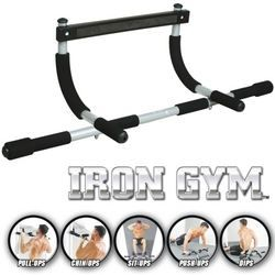 BARRE POUR TRACTION Barre de traction et musculation Iron Gym