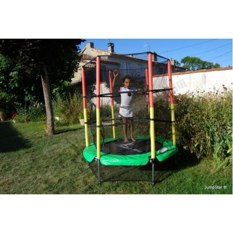 trampoline enfant jumpstar baby 3 6 ans achat vente trampoline trampoline enfant. Black Bedroom Furniture Sets. Home Design Ideas