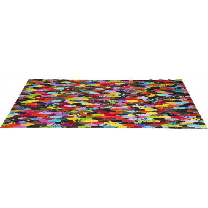 tapis harlekin colore 170x240 cm kare design achat vente tapis cdiscount. Black Bedroom Furniture Sets. Home Design Ideas