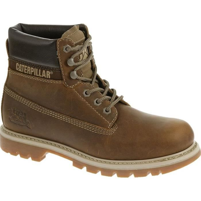 CATERPILLAR Bottines Colorado Chaussures Femme Beige fonçé oj4M43nD