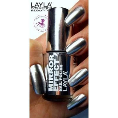 Vernis ongles n 1 metal chrome effet miroir achat for Vernis a ongle miroir