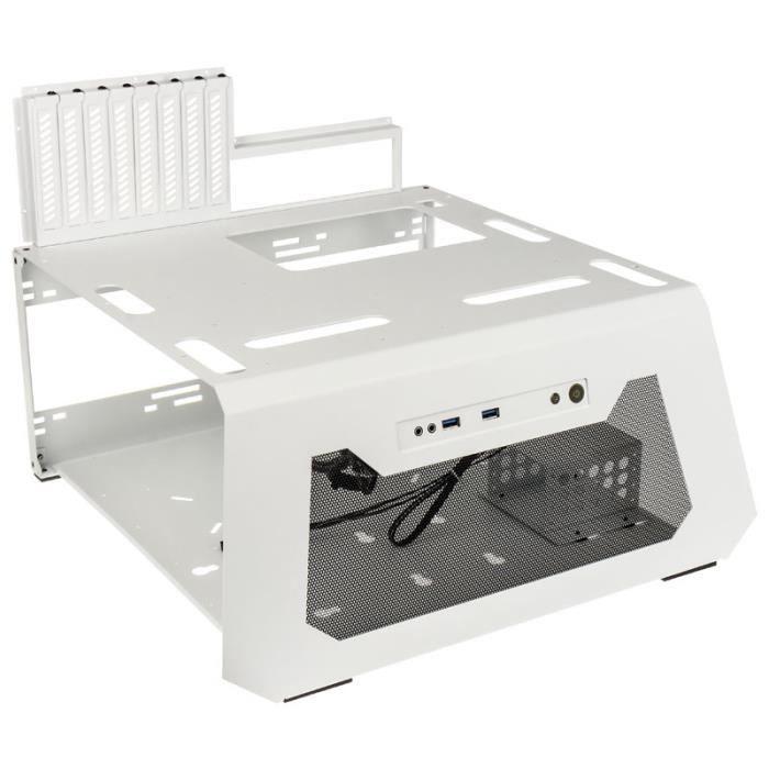 BOITIER PC  Lian Li PC-T70W ATX Test Bench Blanc 0,000000