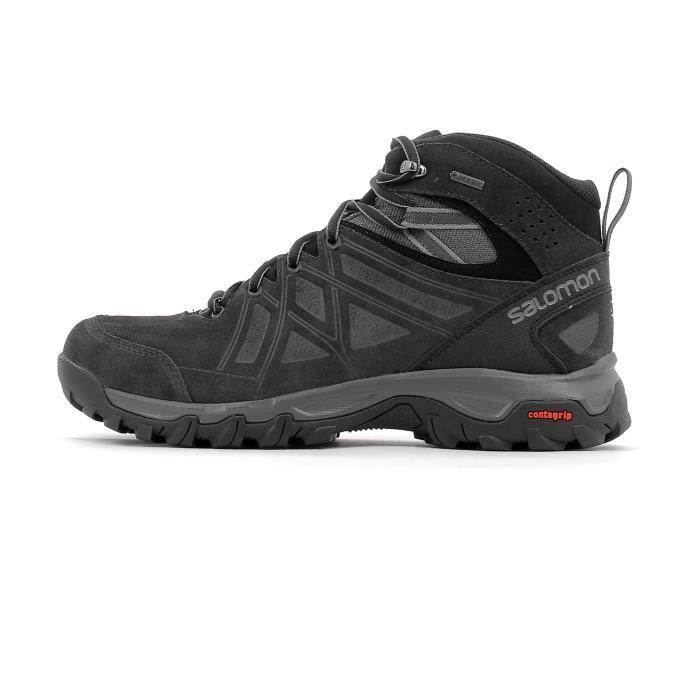 SALOMON Chaussures de randonnée Evasion 2 Mid Ltr GTX Homme Gris anthracite