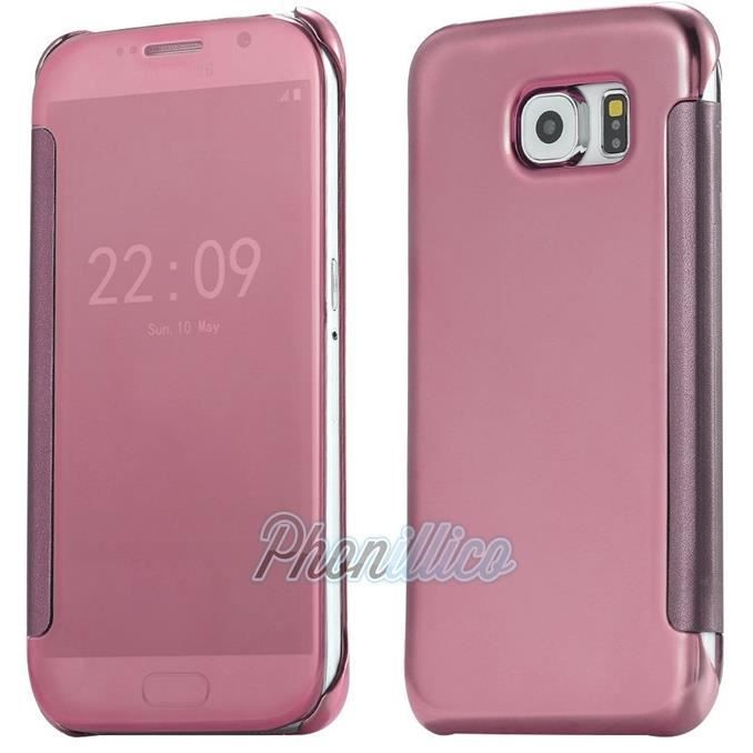 coque samsung galaxy s7edge rose