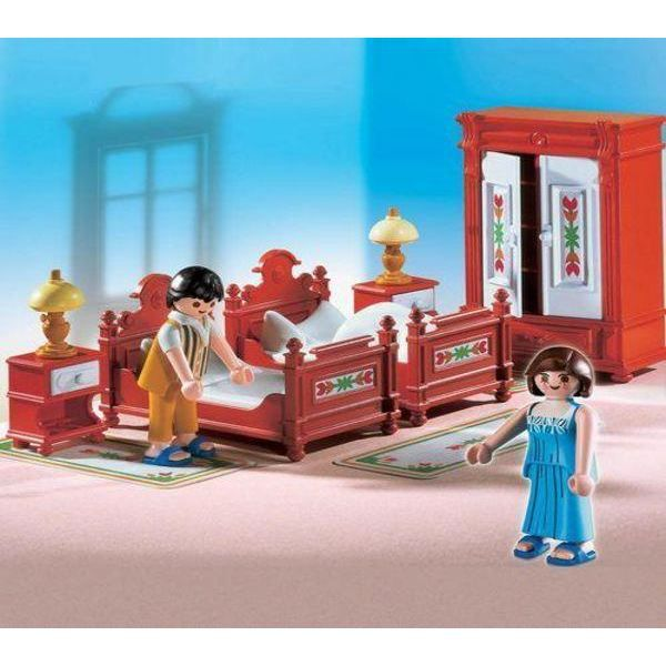 Playmobil 5319 chambre traditionnelle parents achat for Playmobil chambre enfant