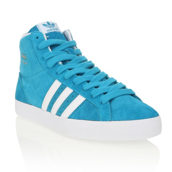 cheaper b3719 6bde4 ADIDAS Baskets Cuir Basket Profi Femme