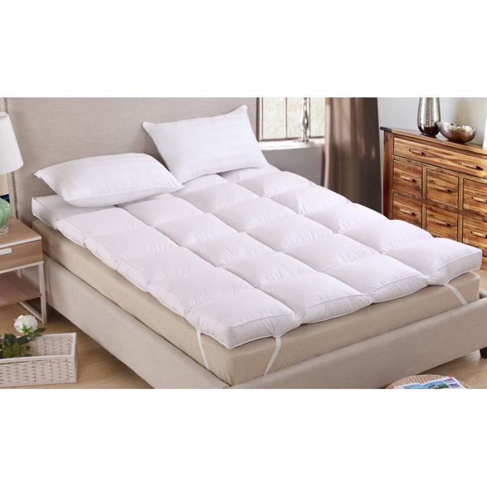 surmatelas 70 cm achat vente surmatelas 70 cm pas cher cdiscount. Black Bedroom Furniture Sets. Home Design Ideas