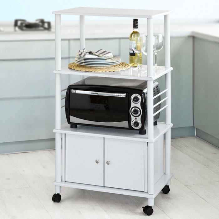 meuble micro ondes achat vente meuble micro ondes pas cher cdiscount. Black Bedroom Furniture Sets. Home Design Ideas
