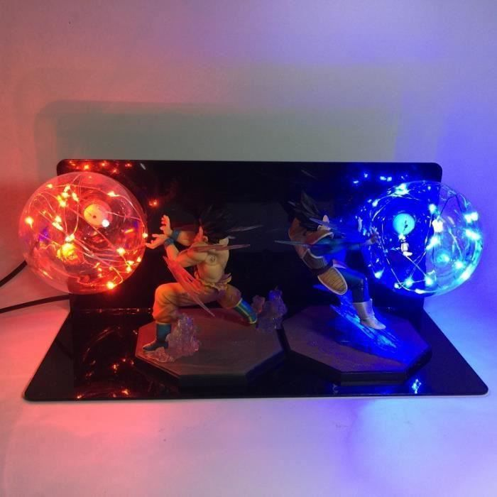 Chevet Ball Z Lighting Lumière Son Super Lampe Vegeta Lamp Dragon Goku Saiyan Led De Nuit ZiuOPkX