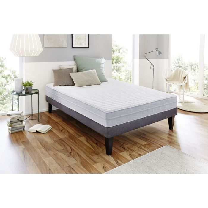 matelas memoire de forme 140x190 epaisseur 30cm achat vente pas cher. Black Bedroom Furniture Sets. Home Design Ideas