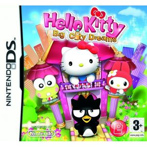 JEU DS - DSI HELLO KITTY BIG CITY DREAMS / JEU CONSOLE NINTENDO
