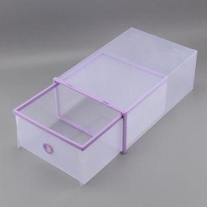 PORTE-CHAUSSURES Boîte de rangement Boîtes à chaussures en plastiqu