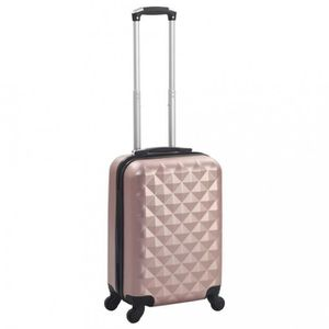 VALISE - BAGAGE P124  Valise rigide Dore rose ABS