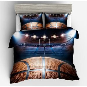housse de couette basket ball achat vente housse de couette basket ball pas cher soldes. Black Bedroom Furniture Sets. Home Design Ideas