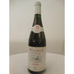VIN ROUGE gamay jean perrier rouge 2000 - savoie france