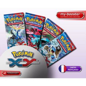 CARTE A COLLECTIONNER 4x Booster Pokemon XY Français
