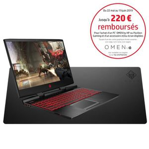 ORDINATEUR PORTABLE HP PC Portable Gamer Omen 15-dc0019nf - 15,6