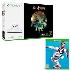CONSOLE XBOX Xbox One S 1 To Sea of Thieves + Fifa 19