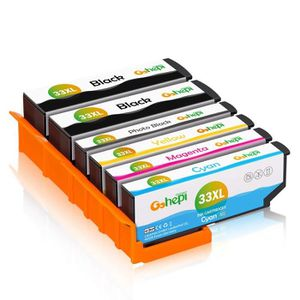 CARTOUCHE IMPRIMANTE 6Pack Compatible EPSON 33XL Cartouche d'encre pour