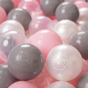 BALLES PISCINE À BALLES KiddyMoon 200-6Cm ∅ Balles Colorées Plastique Pour