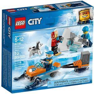 ASSEMBLAGE CONSTRUCTION LEGO® City 60191  Les Explorateurs de l'Arctique -
