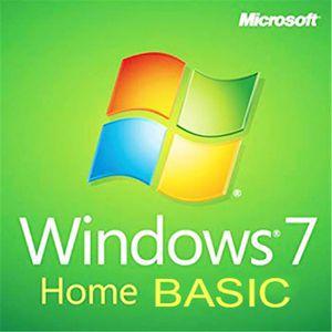 SYSTÈME D'EXPLOITATION Microsoft Windows 7 Édition Familiale Basique 32/6