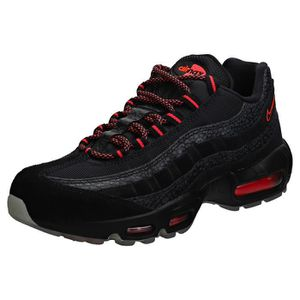 newest e9347 6f9d2 BASKET Nike Air Max 95 Femme Baskets Noir Rose