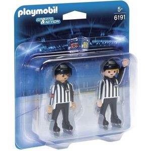 UNIVERS MINIATURE PLAYMOBIL 6191 - Sports & Action - Arbitres de Hoc