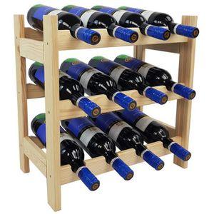 MEUBLE RANGE BOUTEILLE Casier à vin BACCHUS Compact - Casier à vin en boi