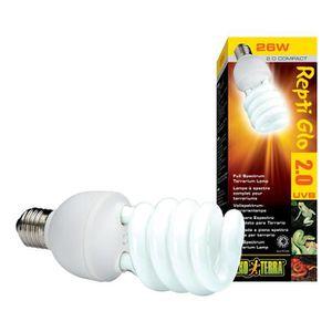 ÉCLAIRAGE REPTI GLO 2 ampoule fluocompacte 26 W