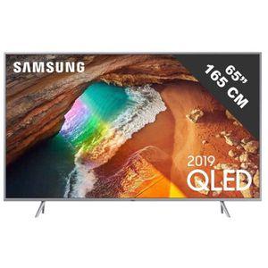 Téléviseur LED Soldes SAMSUNG - QLED QE65Q64R